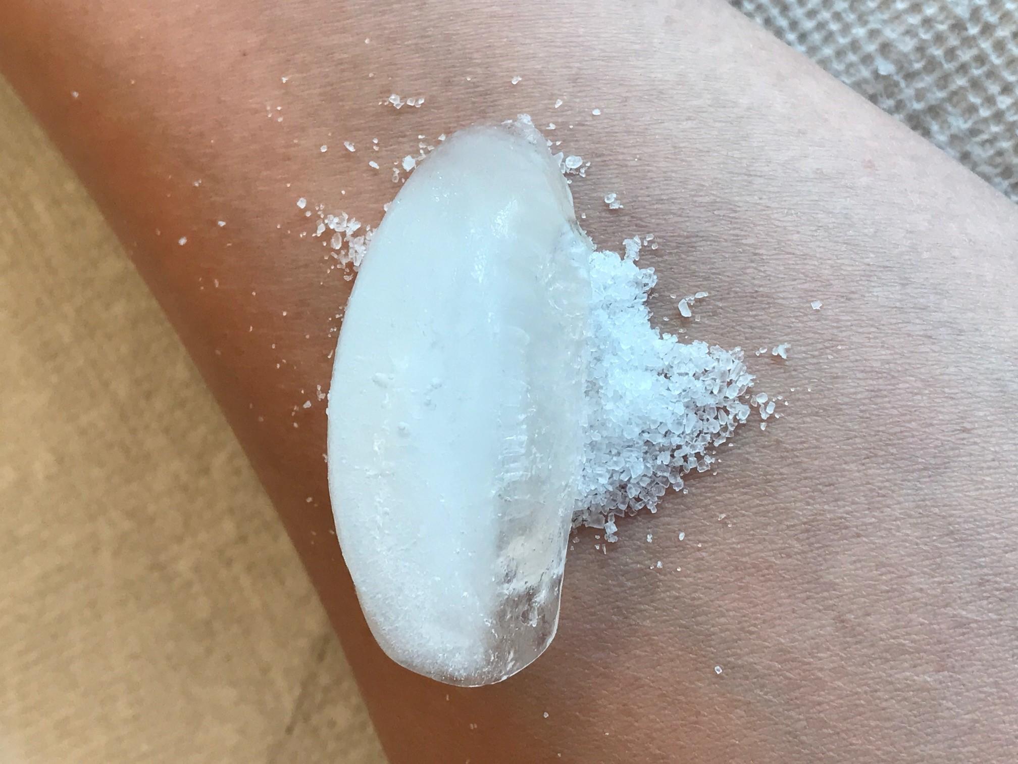 Salt ice challenge