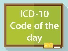 ICD-10 Code of the Day