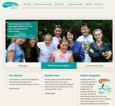 support aad home page