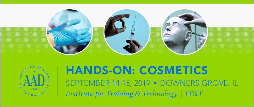 Hands-on: Cosmetics   American Academy of Dermatology