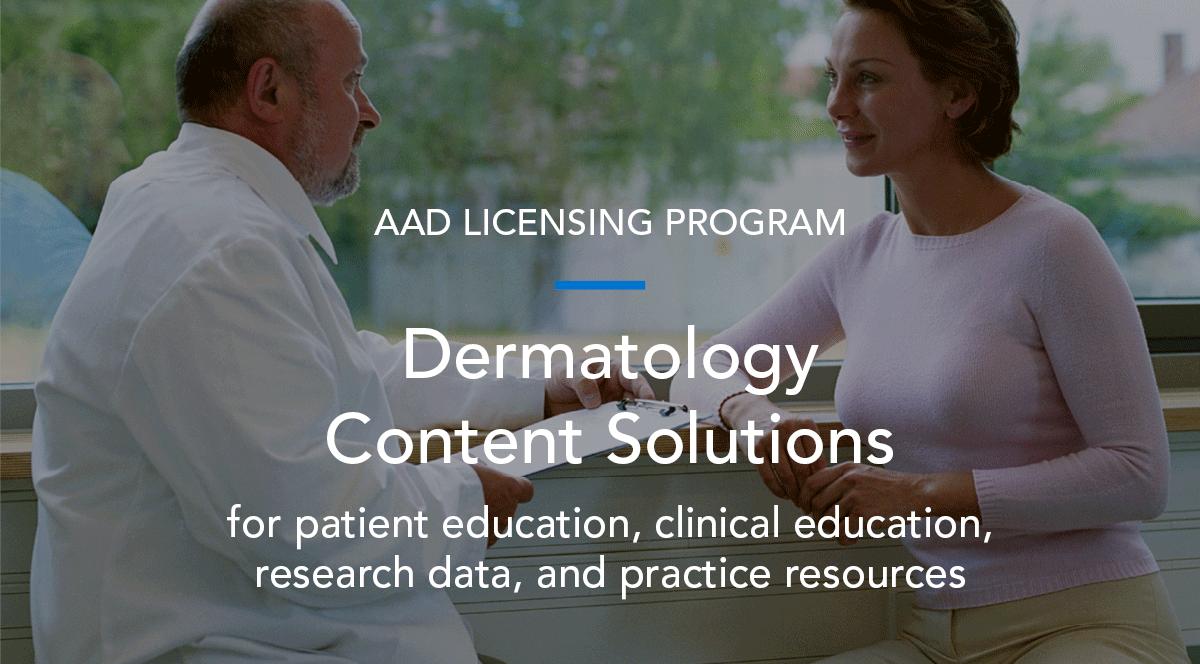 AAD Licensing Program | American Academy of Dermatology
