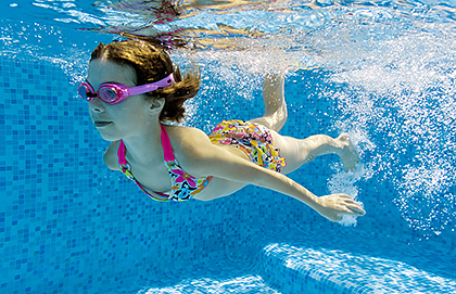 Will Swimming In A Pool Trigger My Child S Eczema